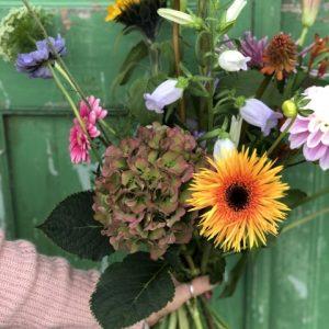 Verrassing van de bloemist