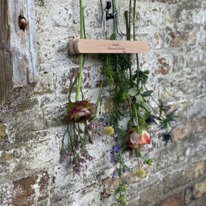 Flower and herb drying clamp